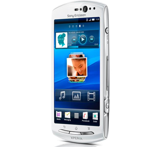Sony ericsson เปิดตัวสมาร์ทโฟน android