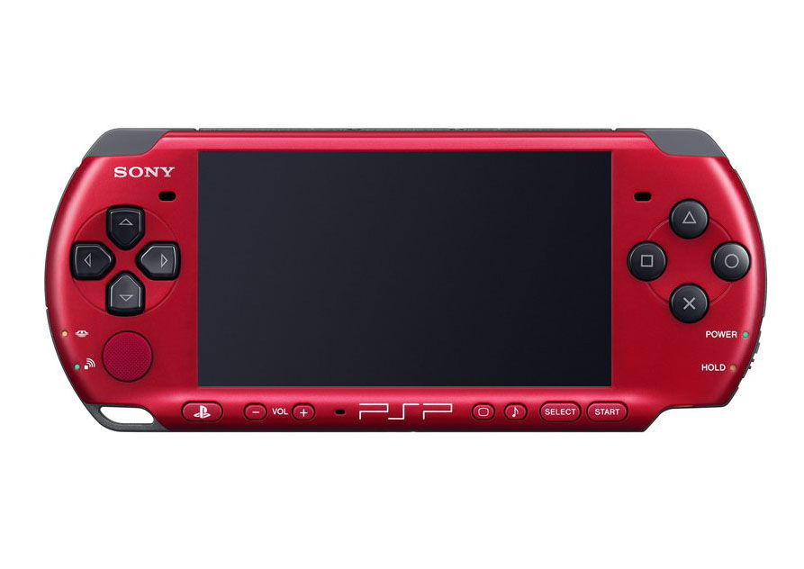 Psp 3000 Red And Black Psp Red Black