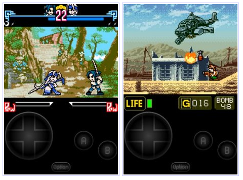 The Emulator of The Neo Geo Pocket Color Comes to Android Market