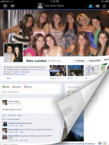 Timelines for Facebook