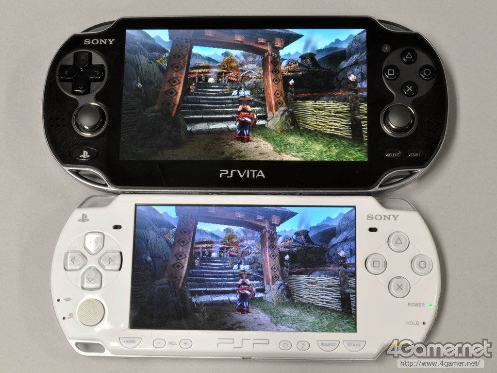 Playstation Vita Vs Psp : เปรียบเทียบภาพในเกม psp ให้ดูกันชัดๆระหว่าง vs ps vita