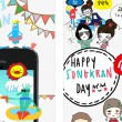 songkran-app-sticker