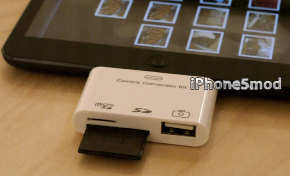 how to use flash on ipad mini camera