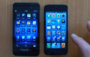 bb-Z10-iPhone5-compare