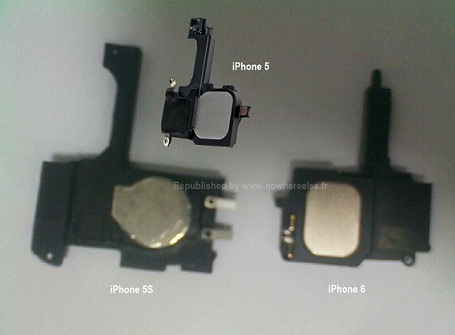 iPhone5S-iPhone6-leakedcomponents