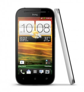 HTC One SV_White_Front&Left