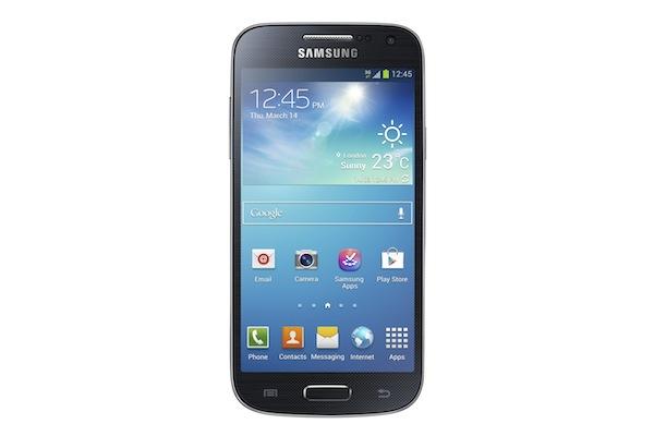 Galaxy S4 Mini_Front_black_Standard_Online