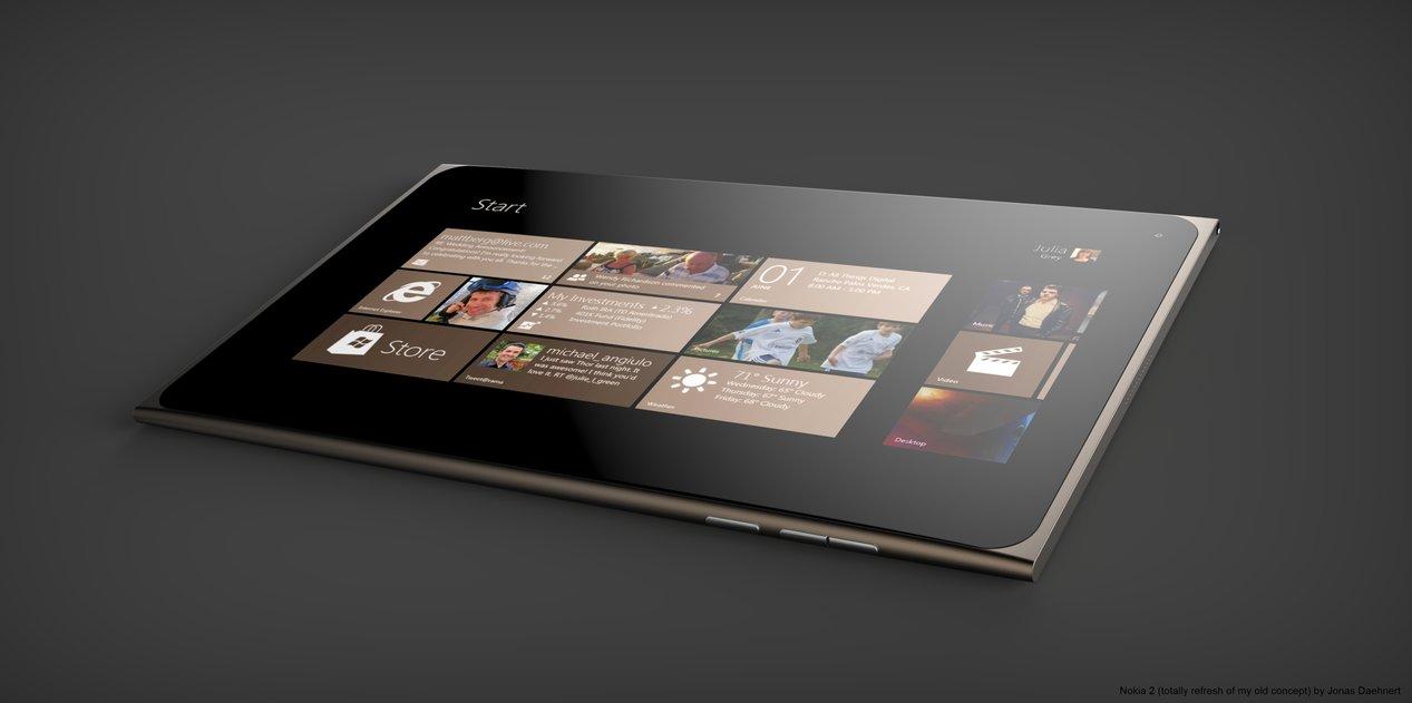Nokia 2 tablet concept Jonas Daehnert angle