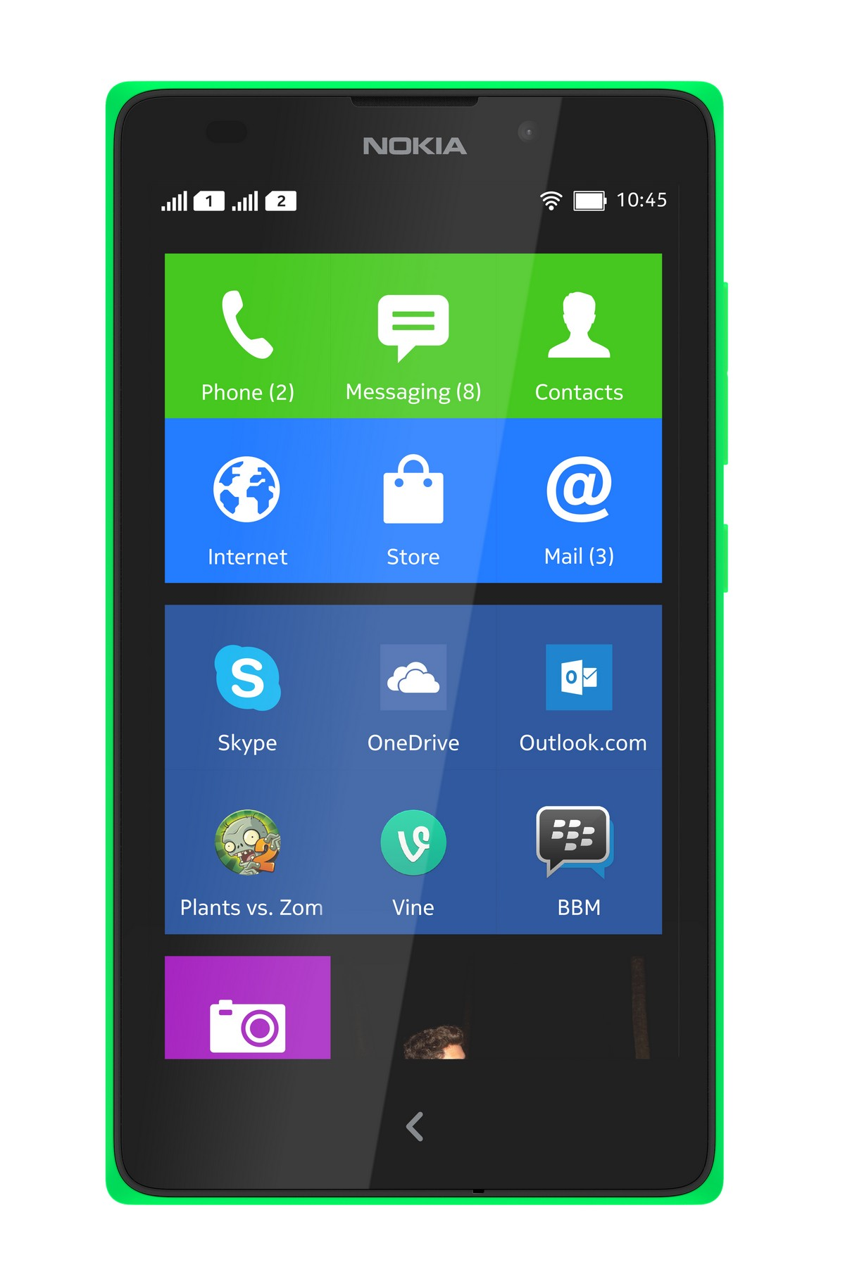 nokia_xl_front_green_homescreen
