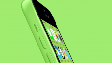 green-iPhone-5c-green-background