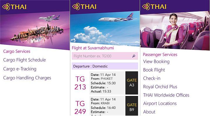 Thai-Airways-app
