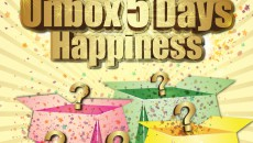 (New Master) Unbox 5 Days Happiness