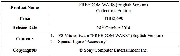 Freedom Wars 1