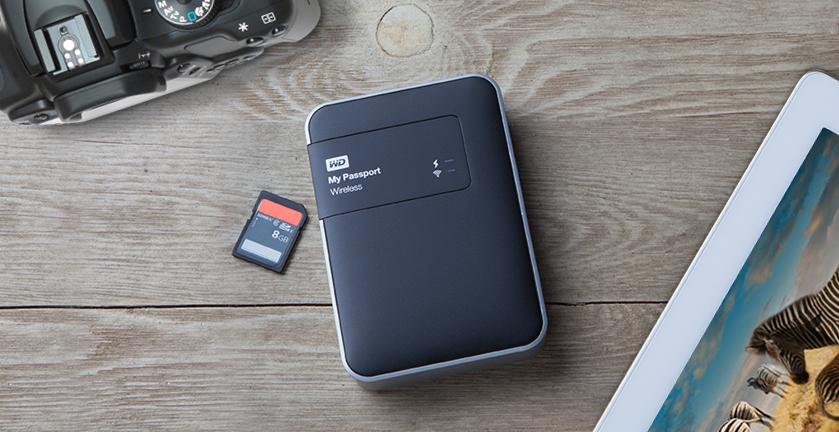 My Passport Wireless in use image