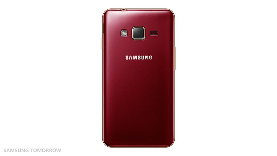 Samsung_Z1_Back_Red