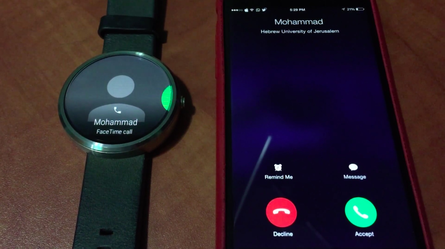 Android-Wear-accepting-iPhone-call-Mohammad-Abu-Garbeyyeh-001
