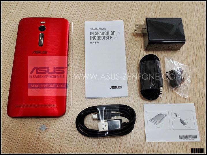 Unboxing ASUS Zenfone 2 10
