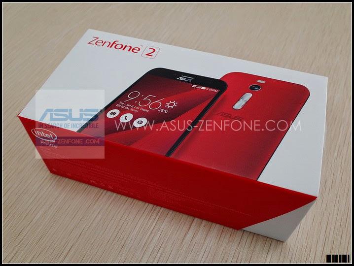 Unboxing ASUS Zenfone 2 3
