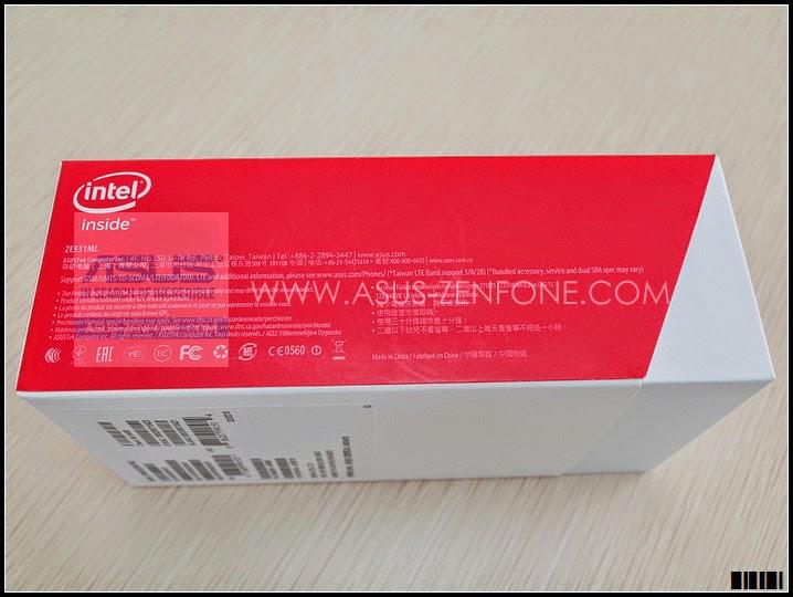 Unboxing ASUS Zenfone 2 4