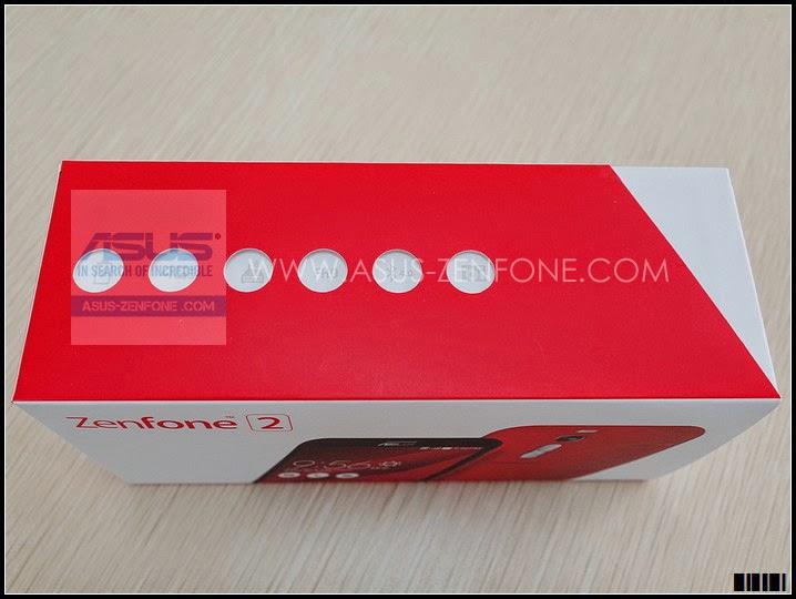 Unboxing ASUS Zenfone 2 5
