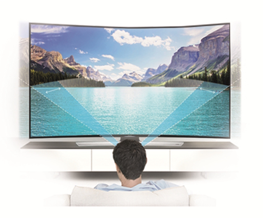 Samsung_SUHD _TV_4K_Flashfly-Optimal Curved Screen