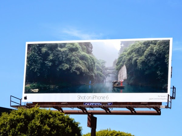 Shot on iPhone6 Siyuan G billboard