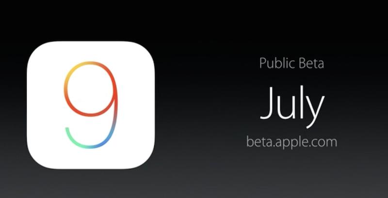 iOS9-publicBeta-July