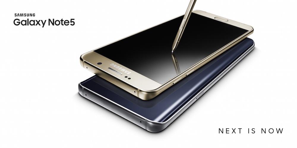 Galaxy Note5_Gold_Black_OOH