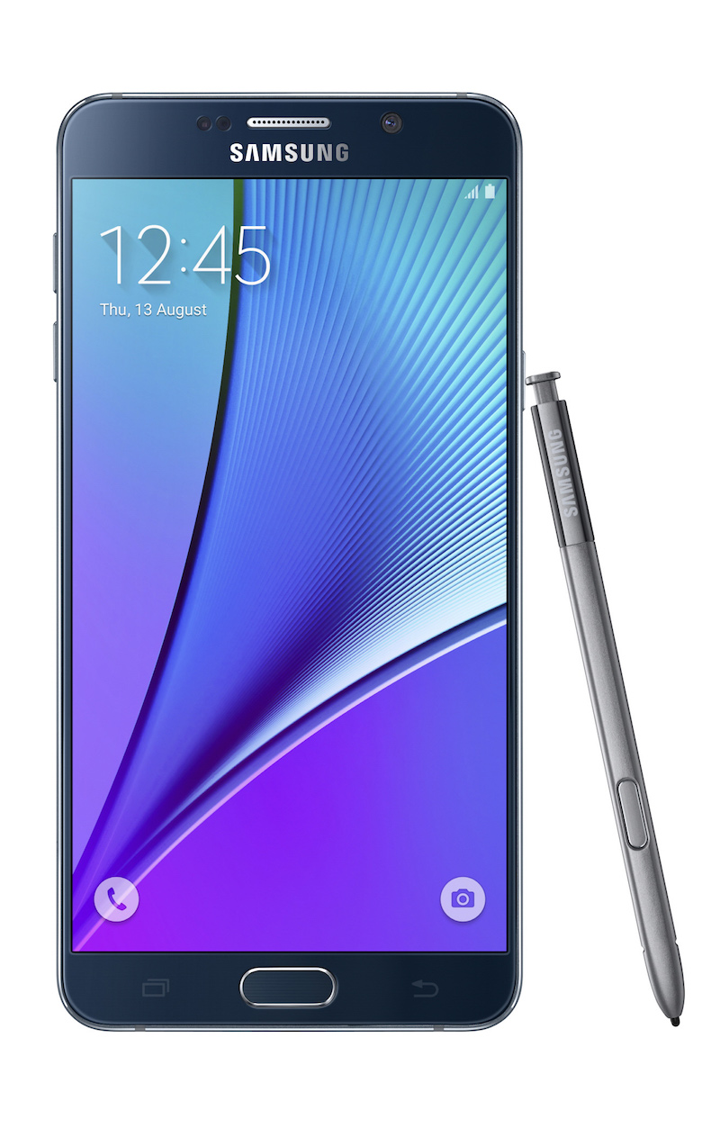 Galaxy-Note5_front-with-spen_Black-Sapphire