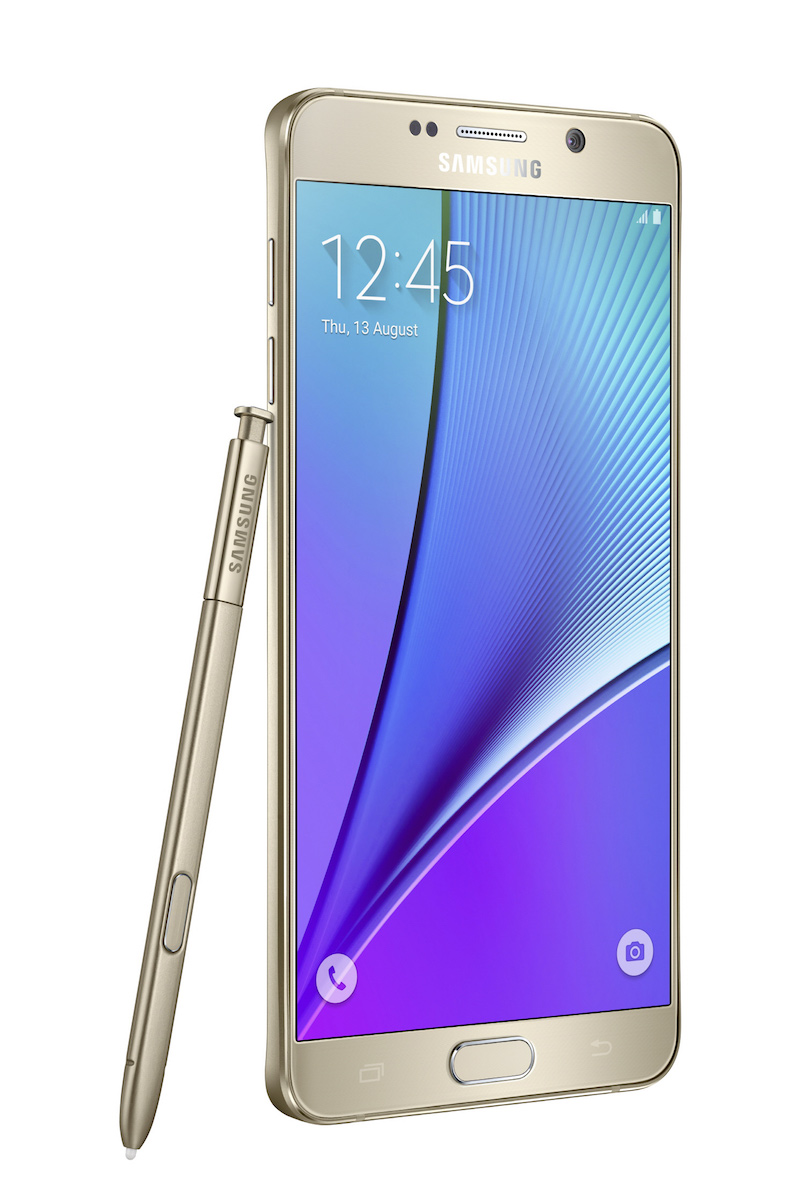 Galaxy-Note5_left-with-spen_Gold-Platinum