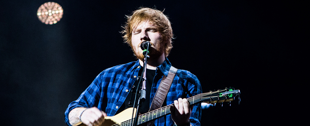 Ed Sheeran performs live at the Mediolanum Forum in Milan, Italy, on January 27, 2015