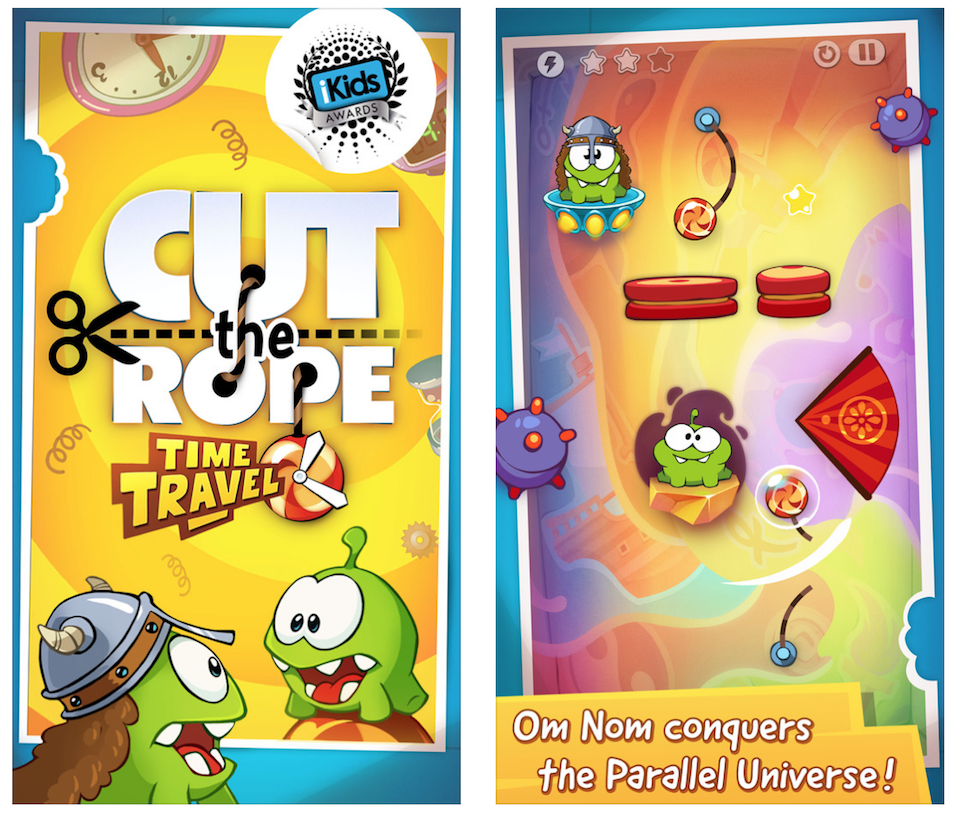 Cut the Rope Time Travel HD - apple - iPhone - iPad