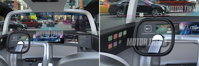 Apple-Car-interior-mockup