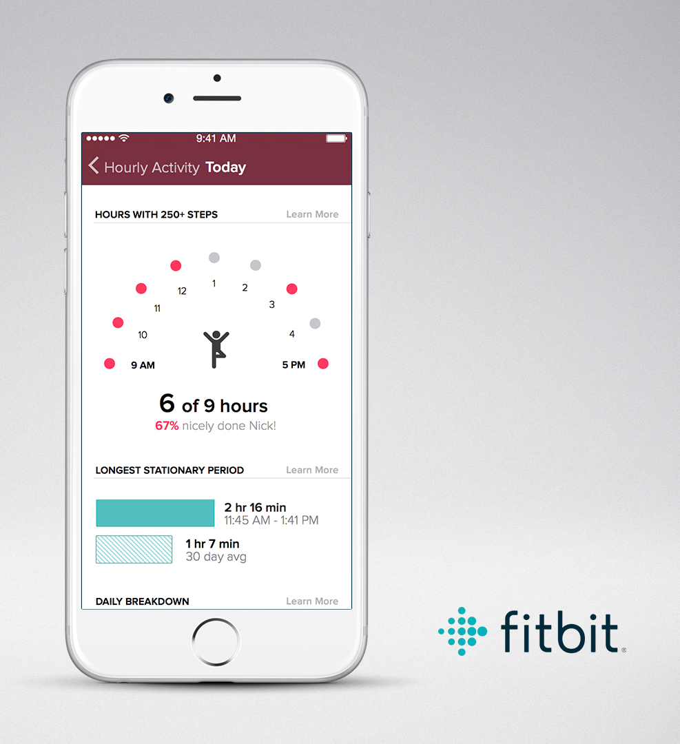 Fitbit App_Hourly_Activity_Screen_1