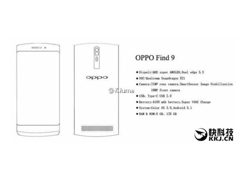 ស្ងាតៗ លេចឮថា OPPO Find 9 មាន RAM ដល់ទៅ 8GB!!!