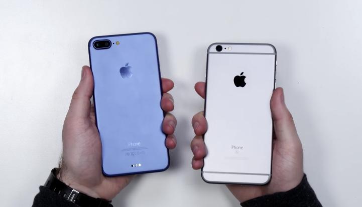 មានដឹងអត់ថា iPhone 7 Plus/6s Plus មួយណាមានកម្រាស់ស្តើងជាង? (VDO)