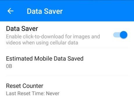 messenger-data-saver