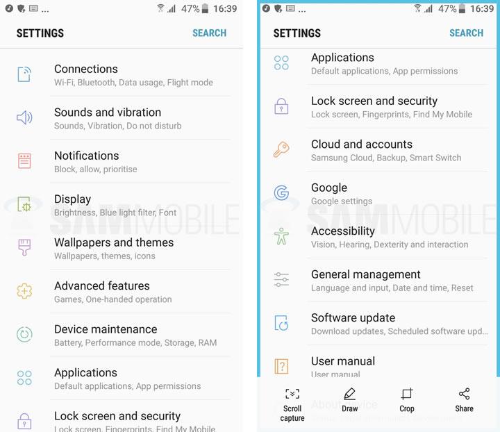 Screenshot-Galaxy-S7-Nougat-Beta-011