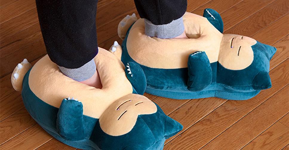 Snorlax-Slippers