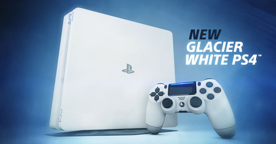 PlayStation-4-Glacier-White
