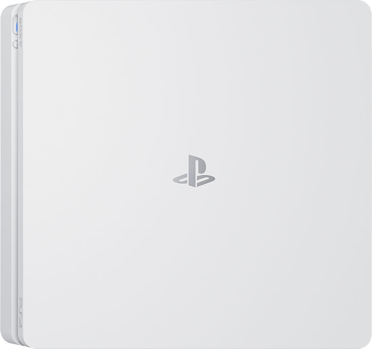 PlayStation4-Slim-Glacier-White
