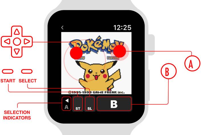 Pokemon-Yellow-Apple-Watch-Control