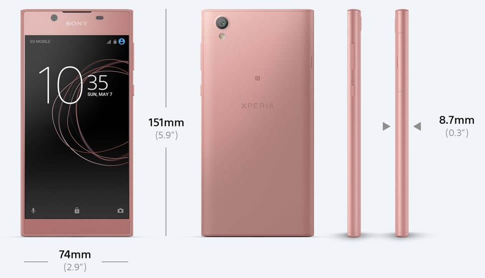 Sony-Xperia-L1-Pink