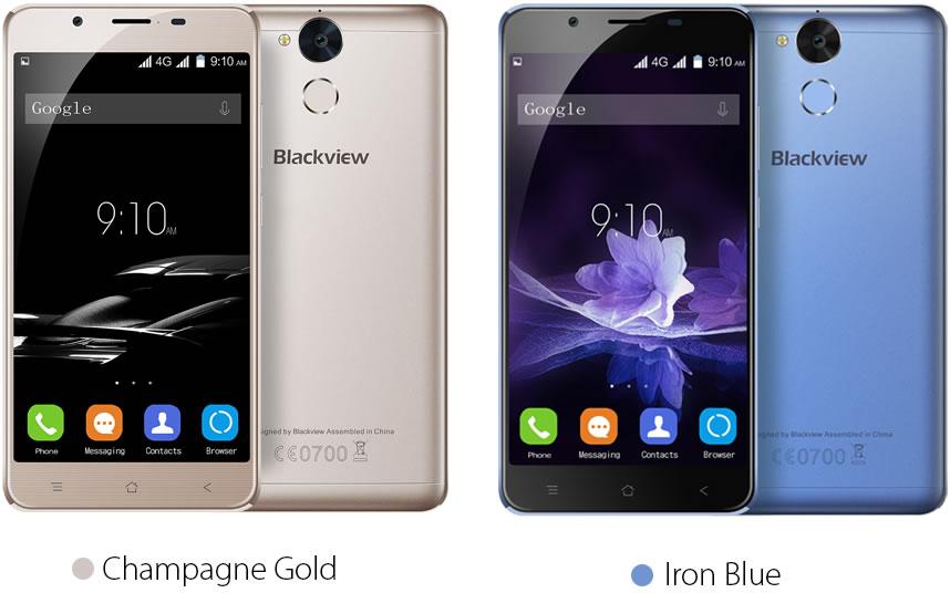Blackview-P2-Lite-Gold