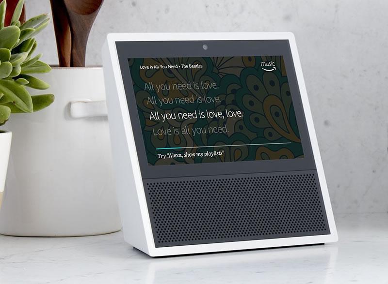 Amazon-Echo-Show-lyrics