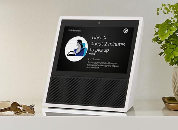 Amazon-Echo-Show-uber-app