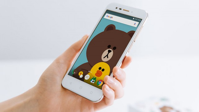 Line-Friends-smartphone
