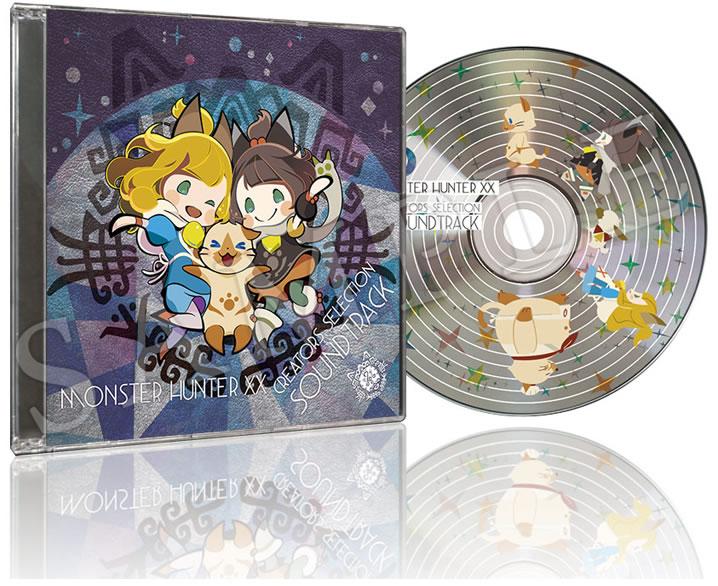 Monster-Hunter-XX-soundtrack-cd