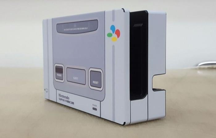 Nintendo-Switch-SNES-skin-dock