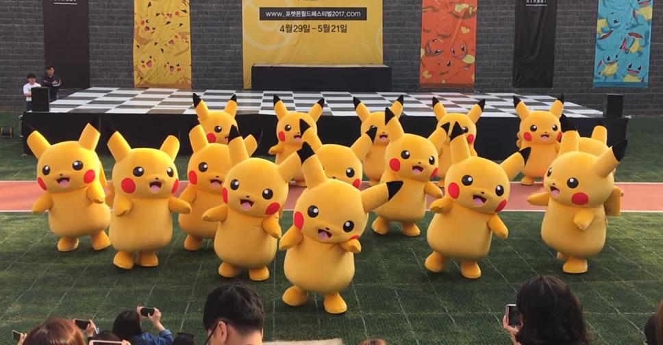 Pikachu-dance